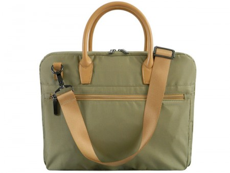 Notebook torba zenska,krem-zelena, 15,6'', soft case