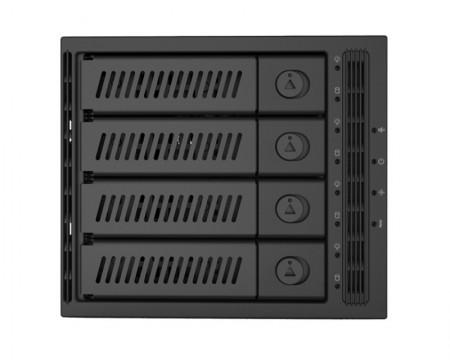 CHIEFTEC CMR-3141SAS 3 x 5.25 SATA crna fioka za hard disk