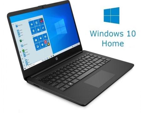 HP 14-DQ0001 14 Celeron N4020 4GB 64GB Win10Home crni