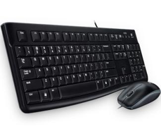 LOGITECH MK120 Desktop USB YU tastatura + USB miš Retail