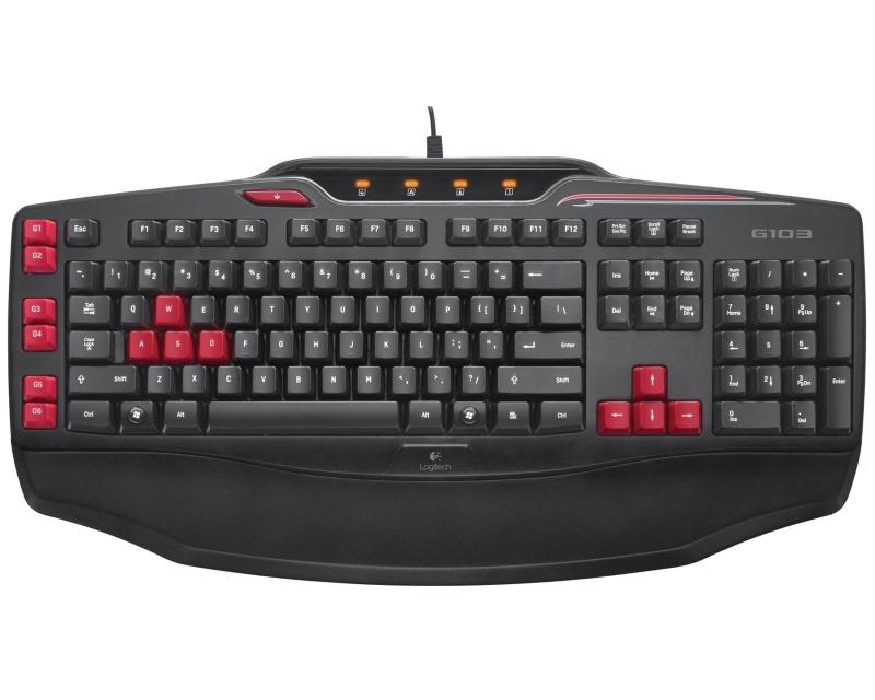 LOGITECH G103 Gaming US tastatura Retail