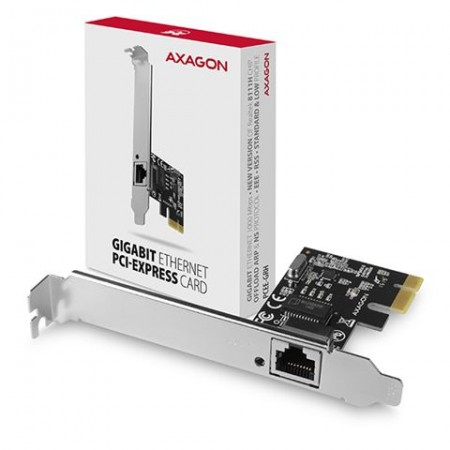 Kontroler PCIe Gigabit Ethernet RJ45 AXAGON
