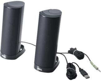 DELL AX210CR USB 2.0 zvučnici crni