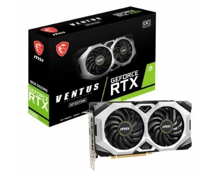 MSI nVidia GeForce RTX 2060 6GB 192bit RTX 2060 VENTUS GP OC