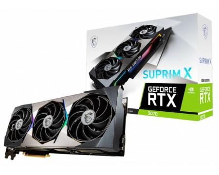 MSI nVidia GeForce RTX 3070 8GB 256bit RTX 3070 SUPRIM X 8G LHR