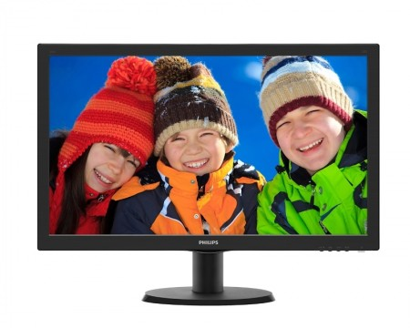 PHILIPS_ 23.6 V-Line 243V5QHABA00 Full HD LCD monitor