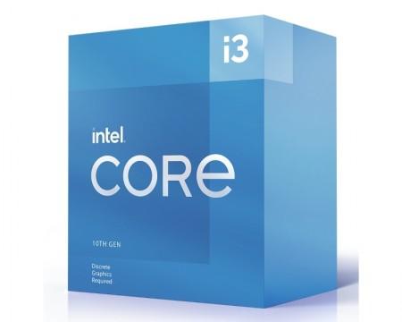 INTEL Core i3-10105F 4 cores 3.7GHz (4.4GHz) Box