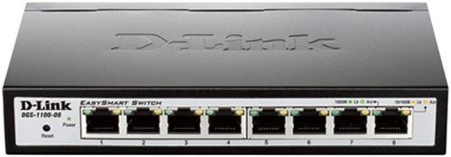 D-Link switch  web upravljivi, DGS-1100-08