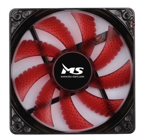 COOLER CASE MS RED LED 12CM FAN