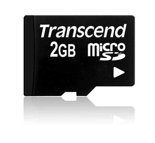 MICRO SD  2GB TRANSCEND bez adaptera TS2GUSDC