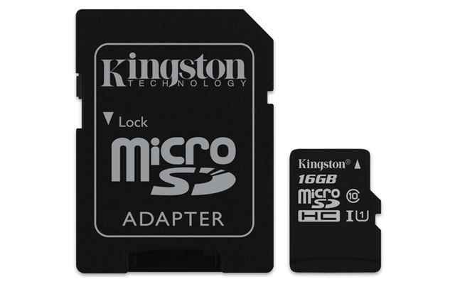 Memorijska kartica  Kingston SD MICRO 16GB Class 10 UHS-I + ad