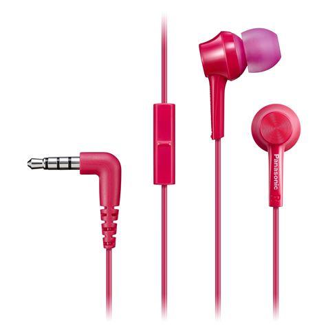 PANASONIC slušalice sa mikrofonom RP-TCM105E-P pink