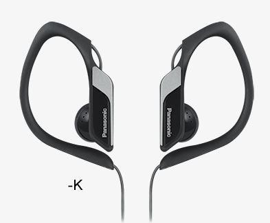 PANASONIC slušalice RP-HS34E-K crne, sportske, vodootporne