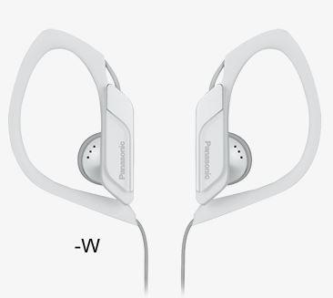PANASONIC slušalice RP-HS34E-W bele, sportske, vodootporne