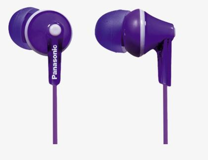 PANASONIC slušalice RP-HJE125E-V ljubičaste