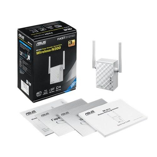 Asus RP-N12 Wireless N300 Range Extender/Access Point/Media Bridge ruter