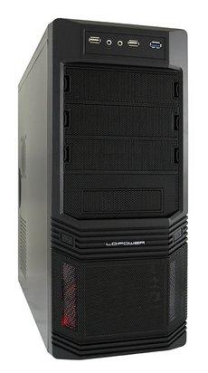 LC Power TOWER Pro-Line PRO-925B 600W-12 USB3.0 Black