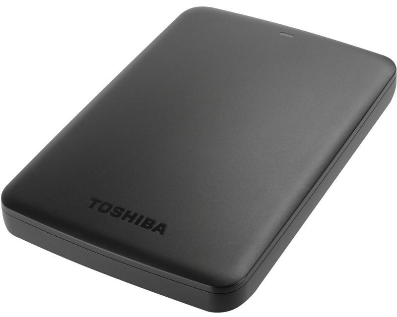 TOSHIBA Canvio Basics 2TB 2.5 crni eksterni hard disk HDTB320EK3CA