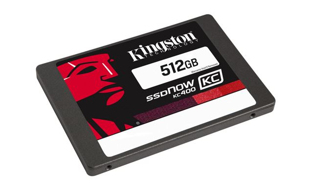 SSD disk Kingston 512GB, SSDNow KC400 SATA 3 2.5