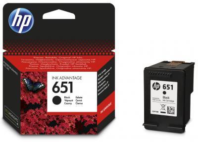 HP 651 Black Ink Advantage Cartridge C2P10AE