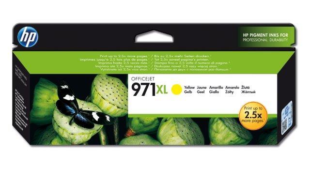 HP No. 971XL Yellow Ink Cartridge za Officejet X451dn/X551dw/X476dn/X576dw CN628AE