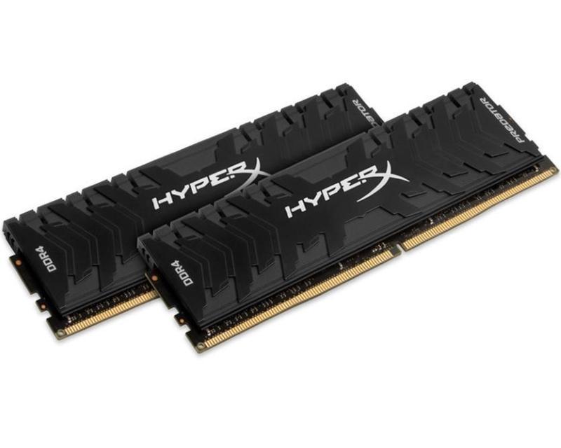 KINGSTON DIMM DDR4 8GB (2x4GB kit) 3200MHz HX432C16PB3K2/8 HyperX XMP Predator