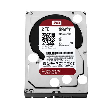 Tvrdi Disk WD240Red Pro231 2TB Sata 3